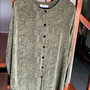 Coldwater Creek tunic in great condition/C